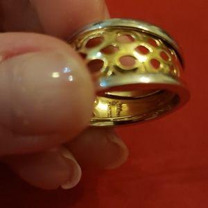Milros Italy Jewelry - 14K white yellow gold Milros Italy ring